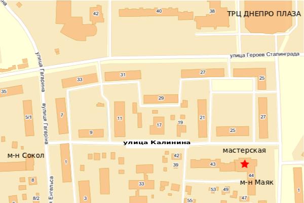 карта как добратсяЧеркассы ремонт мобильных телефонов