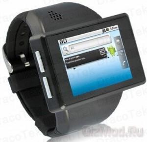 Смартфон-наручные часы Rock Android Watch Phone ремонт мобильных телефонов Черкассы