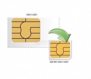 Обрежим сим карту под микро сим (мicroSim) или нано сим (Nano-SIM) для iPone или iPad.